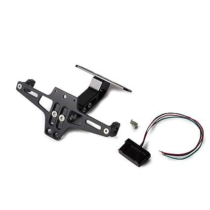 SGTGB Moto Soporte de matrícula trasera e indicador de giro ...