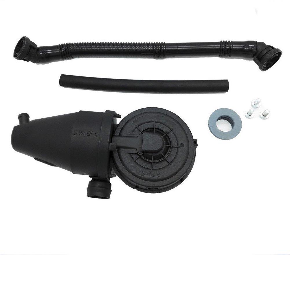 PVC Crankcase Vent Valve with Breather Hose and gasket for BMW E36 323i 328i M3 E39 528i Z3 M52