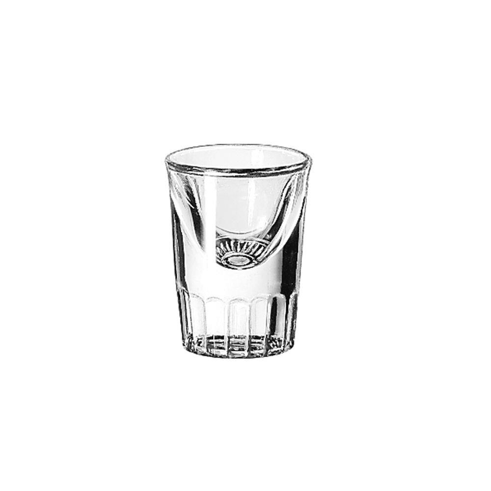 Libbey 5138 Whiskey Service 1 Ounce Tall Whiskey Glass - 48 / CS