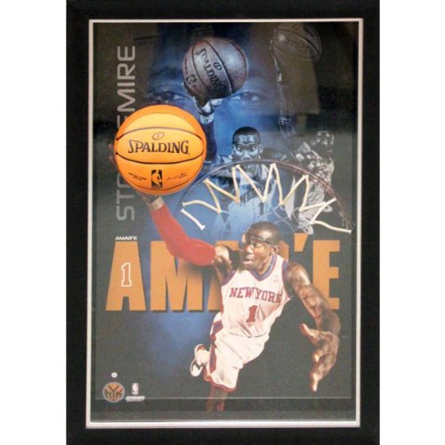 NBA New York Knicks Amar'e Stoudemire 'Dunk' Framed 20x32 Breaking Through Collage by Steiner Sports