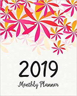 2019 monthly planner a year 12 month january 2019 to december 2019 for to do list journal notebook planners and academic agenda schedule weekly monthly calendar planner volume 7