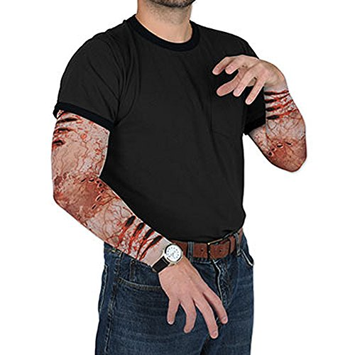 Zombie Attack Bite Survivor Nylon Party Sleeves -