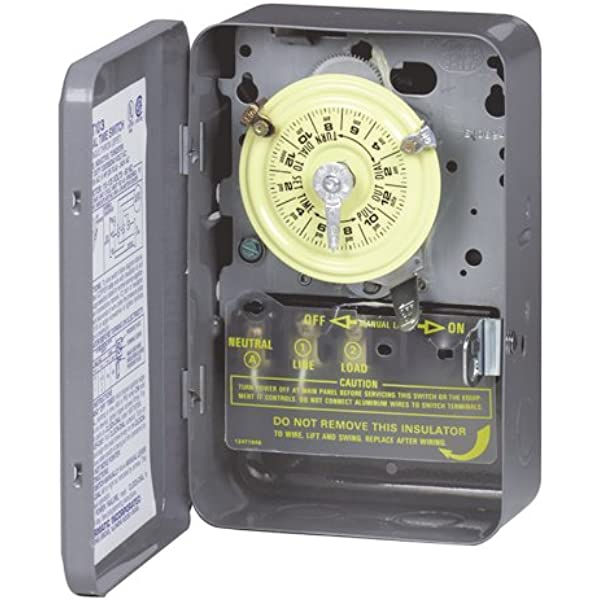 t103 clock wiring diagram pool intermatic t103 mechanical time switch  gray wall timer switches  intermatic t103 mechanical time switch