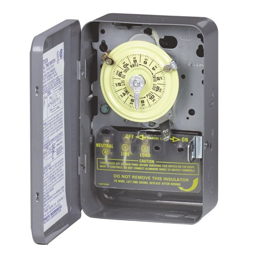 Intermatic T103 Mechanical Time Switch, Gray ()