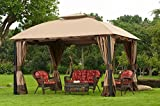 Sunjoy Replacement Canopy Set Deluxe Fabric for 11x13ft South Hampton Gazebo