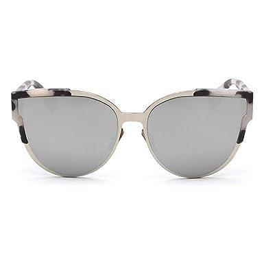 Smileyes Damen Fashion Sonnenbrillen UV400 Retro Vintage Style Unisex #TSGL008 (Schwarz) xknKVdU