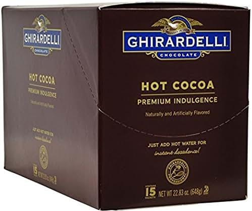 Hot Cocoa: Ghirardelli