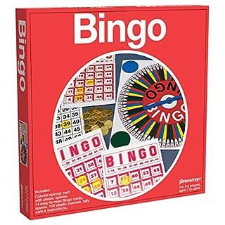 Pressman Toy Bingo in Red Box