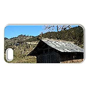 godess temple - Case Cover for iPhone 5 and 5S (Religious Series, Watercolor style, White)