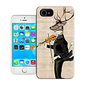 Unique Phone Case Dancing Deer Hard Cover for 5.5 inches Samsung Galaxy S5 I9600/G9006/G9008 cases-buythecase hjbrhga1544