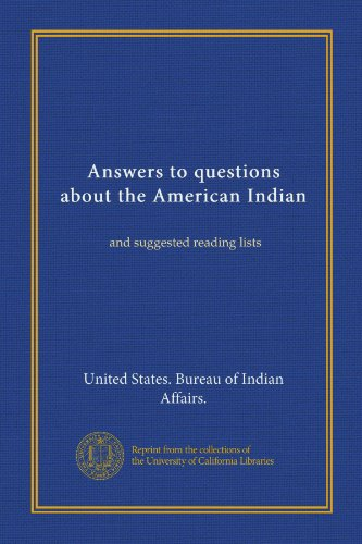 United states bureau of indian affairs author profile - United states department of the interior bureau of indian affairs ...
