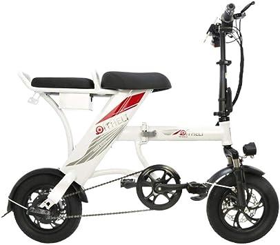 Suyanouz Nueva Plegable Bicicleta EléCtrica De 12 Pulgadas ...