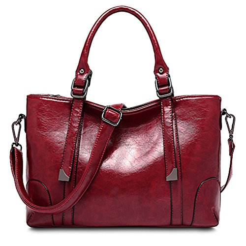 Price comparison product image ALARION Women Top Handle Satchel Handbags Tote Purse Shoulder Bag