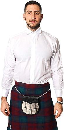 Lloyd Attree & Smith Victoriano Camisa Cuello de Pajarita Blanco