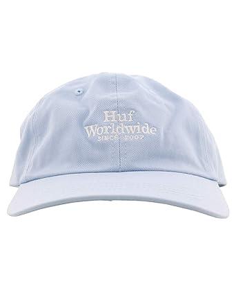 33d3e20de5f HUF Worldwide UV Curved Brim Hat - Light Blue  Amazon.co.uk  Clothing