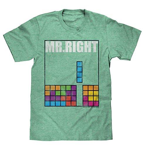 Tetris ' Mr. Right' Licensed T-Shirt