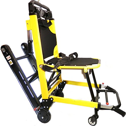 Motorized chair stair climber electric evacuation for Motorized stair chair lift