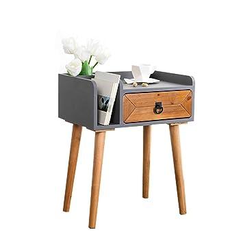Petite Table Meuble De Rangement Multifonctionnel De Chevet Pour Le