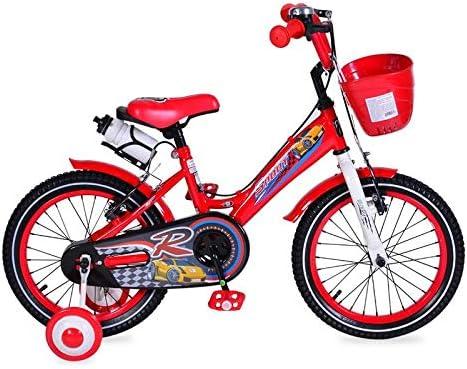 Byox Bicicletas para niños 16 Pulgadas 1680 Rojo Ruedas de Apoyo ...