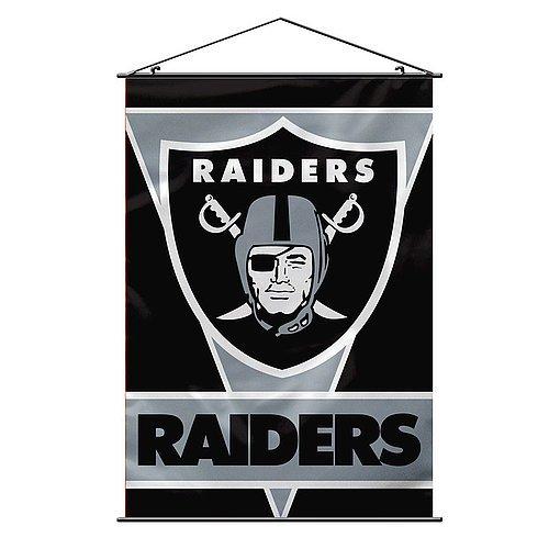 Nfl Premium Banner (Oakland Raiders Premium 28x40 Wall Banner - NFL Licensed)