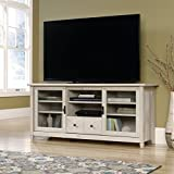 Sauder Edge Water TV Stand in Chalked Chestnut