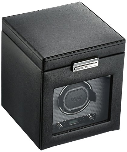 WOLF Viceroy Single Watch Winder with Storage