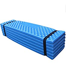 BeGrit Sleeping Pad Lightweight Folding Portable Seat Cushion Waterproof Foam Soft Moisture Mat for Outdoor Travel Picnic Beach Fishing Camping