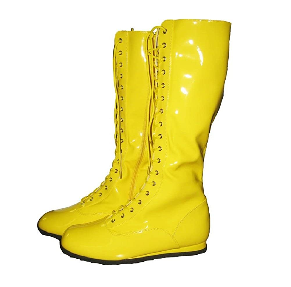 Fancy dress yellow boots