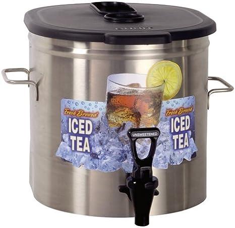 Bunn 34100.0003 Iced Tea Dispenser 5 Gallon Urn w// Brew-Through Lid
