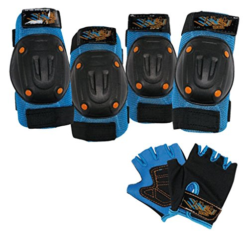 Bell-Riderz-Speed-Freak-Street-Shred-Pad-and-Gloves-Set