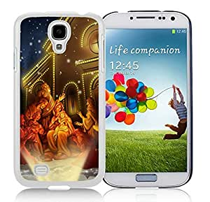 Niche market Phone Case Samsung S4 TPU Protective Skin Cover Merry Christmas White Samsung Galaxy S4 i9500 Case 57