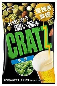Ezaki Glico edamame Kurattsu Umashi Contact 42g ~ 10 pieces