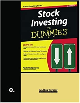 Buy stock investing for dummies 1 book online at low prices in buy stock investing for dummies 1 book online at low prices in india stock investing for dummies 1 reviews ratings amazon ccuart Image collections