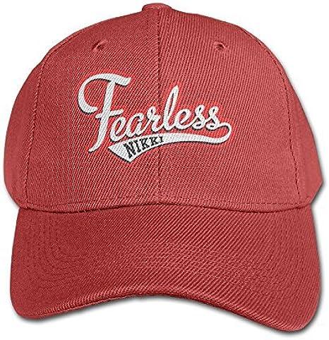 Kid Nikki Bella Logo Fearless Baseball Caps