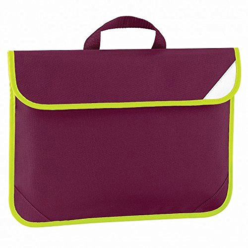 Quadra Litres Burgundy vis Book Bag Enhanced 4 q6r7Sqw