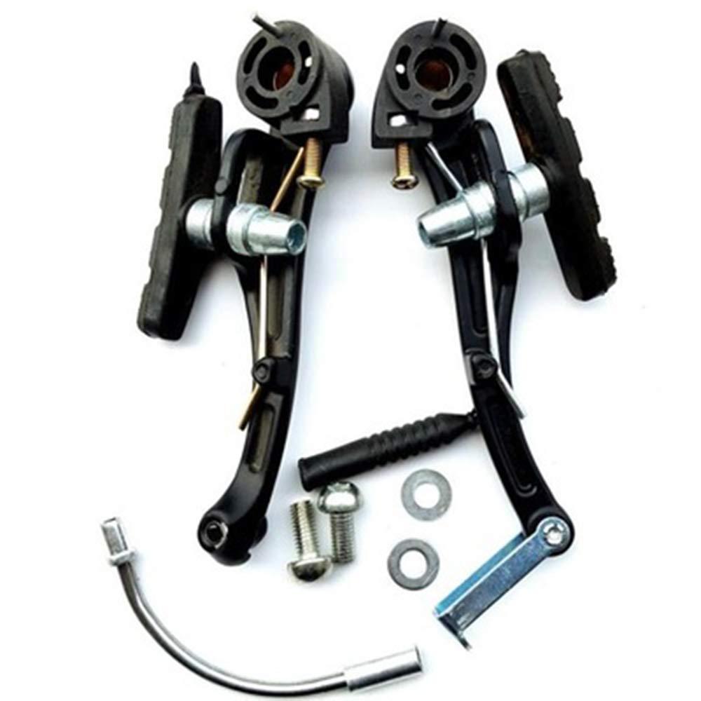 Genenic 2 Pack Bike Brakes,Aluminum Alloy Mountain Bike V Brakes Set Replacement Fit Most Bicycle, Road Bike, MTB, BMX