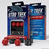 Star Trek Adventures: Command Division Dice Set - Red