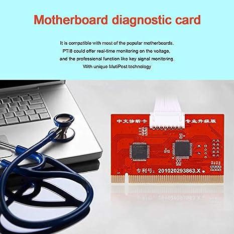 Tableta LCD PC Analizador de la placa base Diagnóstico Posterior ...