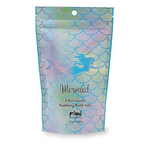 Elements Bath Salt (Primal Elements Mermaid Bubbling Bath Salts, 12 Ounce)