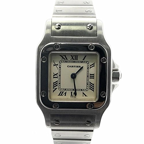 Cartier Santos Galbee swiss-automatic womens Watch W20056D6 (Certified Pre-owned)