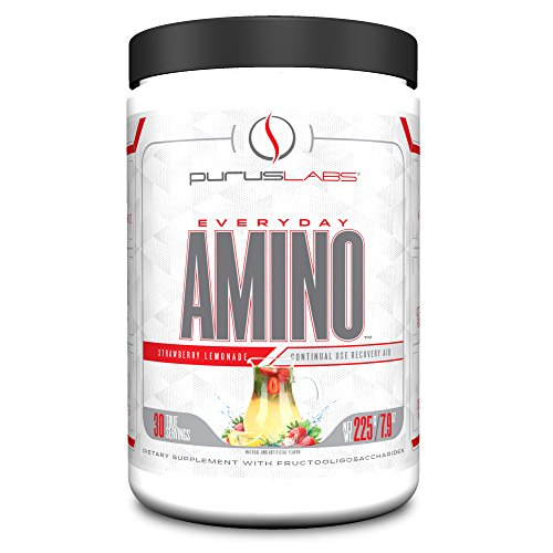 Purus Labs Everyday Amino Strawberry Lemonade, 225 Gram