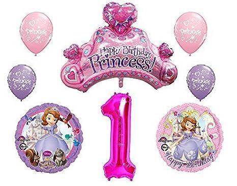 Amazon Disneys Sofia The First 1st Happy Birthday Party