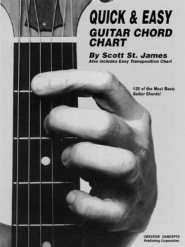 Quick and Easy Guitar Chord Chart Easy Guitar Chord Chart