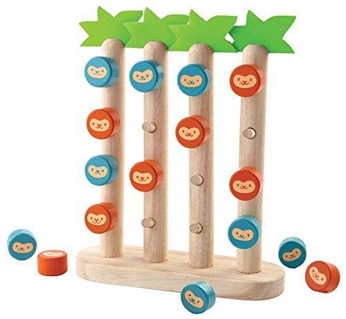 超話題新作 Plan Toys Monkeys B01K1X3U1Q in Monkeys a Row Plan [並行輸入品] B01K1X3U1Q, エブリ:ec88dd1d --- a0267596.xsph.ru