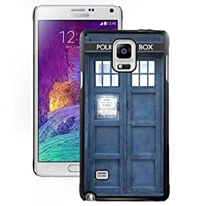 Grace Protective Note4 Case Design with Doctor Who Samsung Galaxy Note 4 N910S N910C Case in Black