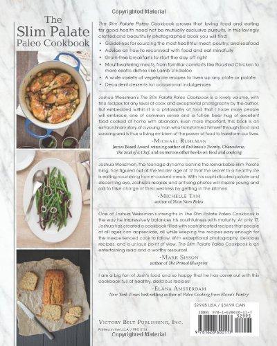 The slim palate paleo cookbook joshua weissman 0884579492813 the slim palate paleo cookbook joshua weissman 0884579492813 amazon books forumfinder Choice Image