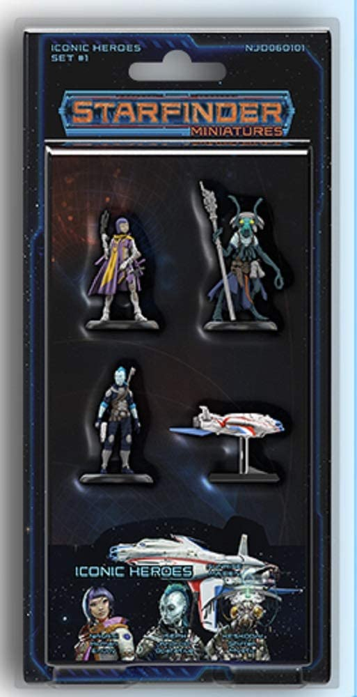 SFRPG Mini: Iconic Heroes Set 1