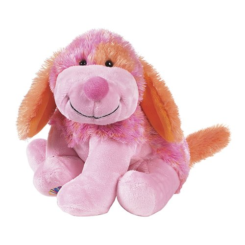 Cheeky Dog - Webkinz Plush Stuffed Animal Pink Punch Cheeky Dog