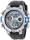 Burgmeister Men's BM800-112C Digital Power Alarm Chronograph Watch, Watch Central