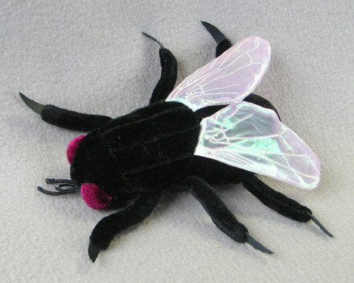 Stuffed House Fly Stuffed Animal<br>6 inches long